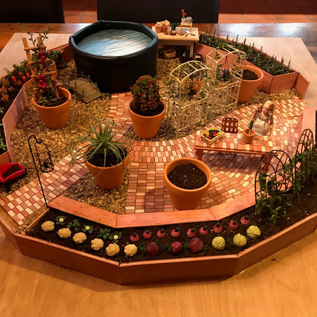 Model of Greenhouse layout