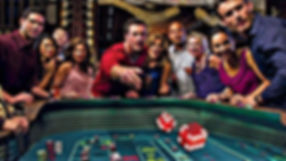 craps table and game