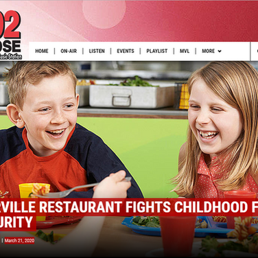 WATERVILLE RESTAURANT FIGHTS CHILDHOOD FOOD INSECURITY