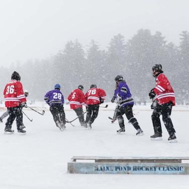 Maine Magazine Pond Hockey Tournamenet