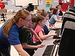 Computer Room, Brain Gain, Afterschool program, summer enrichment camp, computer lab, computer skills, social media, word, typing skills