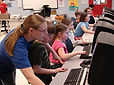 Computer Room, Brain Gain, Afterschool program, summer enrichment camp, computer lab, computer skills, social media, word, typing skills