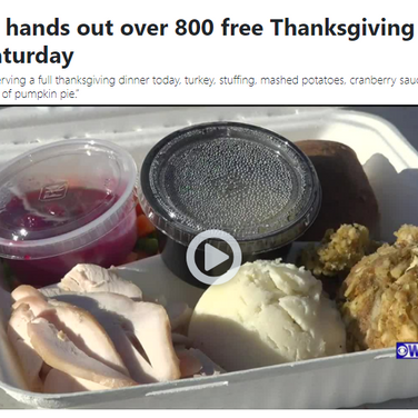 AYCC Hands out Free Thanksgiving Meals