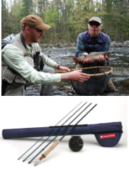 Fly Fishing Excursion, Rod & Reel