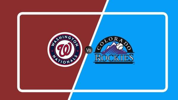 Washington Nationals vs. Colorado Rockie