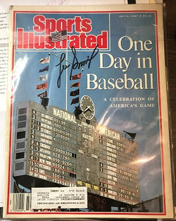 Lee Smith Autographed SI