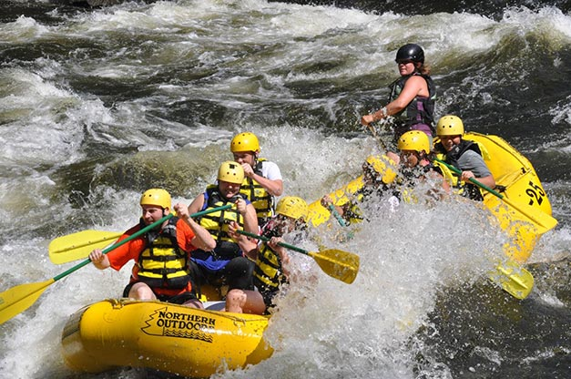 White Water Rafting for 2