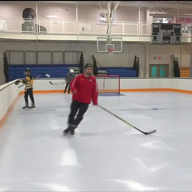 Waterville has new synthetic skating rink at AYCC, working toward a new ice arena