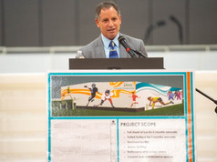 Plans for new Waterville community recreation arena unveiled at youth center
