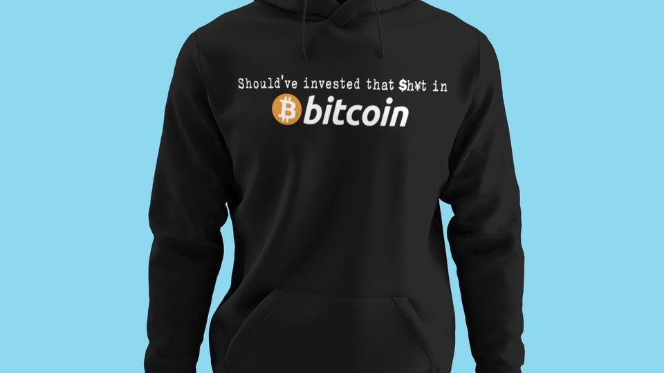 """""""Should've Invested"""" Hoodie"""