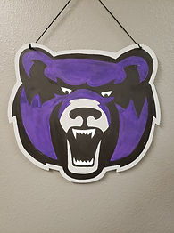 UCA Bear Head Door Hanger