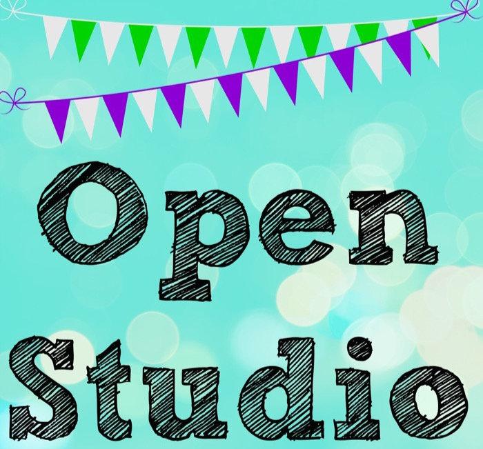 Saturday Night Open Studio (Canvas)