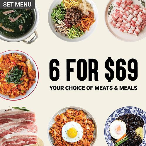 Weekly Korean Dining Pack