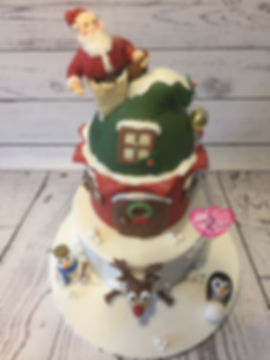 Father Christmas Cake Topper - Christmas Cake
