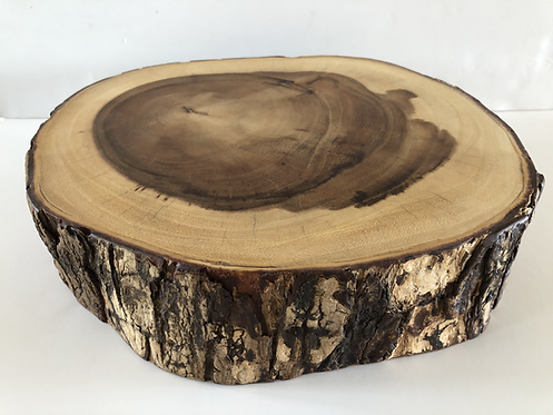 """For Hire Price Only -Wooden Cake Stand 12.5"""" x 3"""" height"""