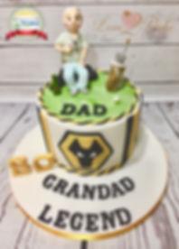 Wm Dad, Grandad, Legend Life Cake Oct 20