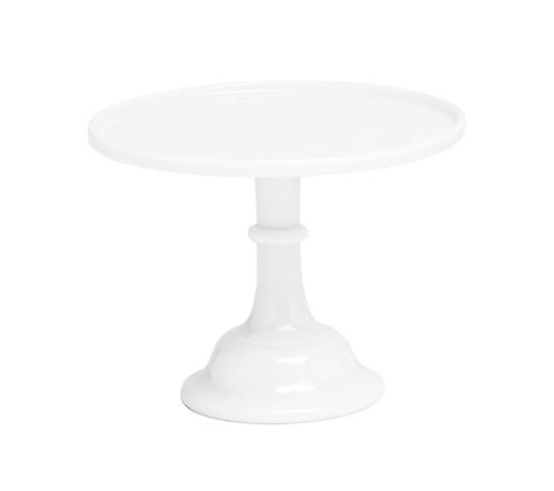 For Hire Price Only - Mosser White Ceramic Cake Stand 12""
