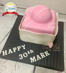 Fondant Fancy Cake by Love2bake