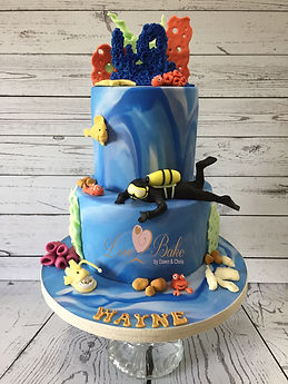 Deep Sea Diving Cake
