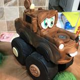 Mater Monster Truck cake topper