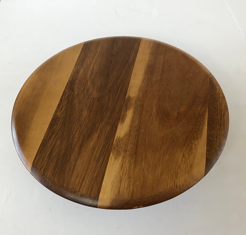 "For Hire Price Only - Wooden Cake Stand 11"" x 2.5"" height"