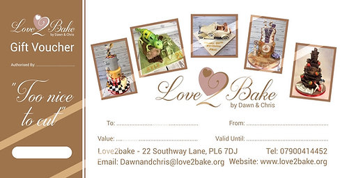 Love2bake Gift Voucher
