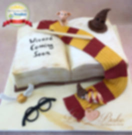 Harry Potter Baby Shower Cake May 201
