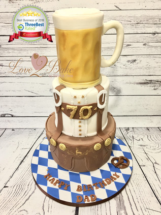 Oktober Fest Cake by Love2bake