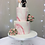 "Thumbnail: For Hire Price Only - Glass Cake Stand 9.5"" x 7"" height"