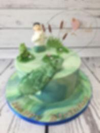 Carp Fishing Cake