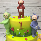Telly Tubbies characters