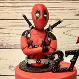 Deadpool Cake topper