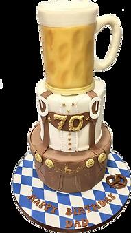 Beer Oktober Fest Cake