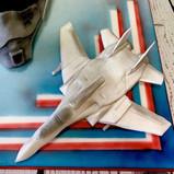 Top Gun Mig 28 cake topper