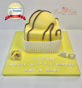 Giant French Fancy cake