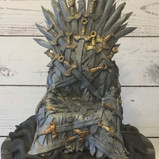 Game of thrones chair cake