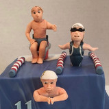 Children swimming toppers