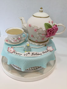 Teaport Cake
