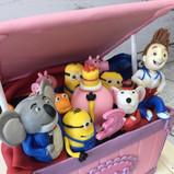 Toy box cartoon characters