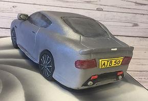 Aston Martin Car Cake