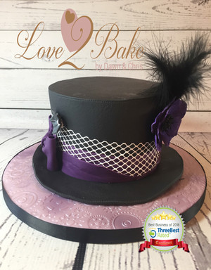 Hat Cake by Love2bake