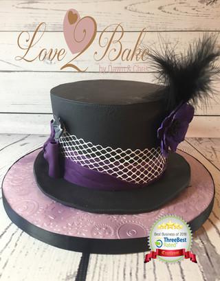 Hat Cake by Love2bake