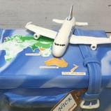 Boeing 747 aeroplane cake topper