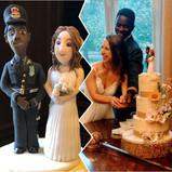 Wedding Cake topper comparison pic