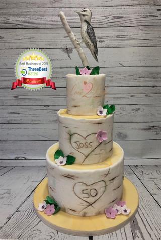 Woodpecker Cake