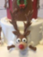 Rudolph Cake topper
