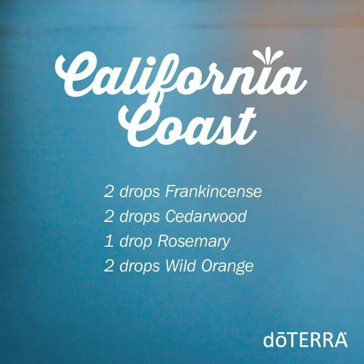 doterra california coast diffuser
