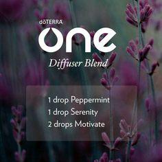 doterra one diffuser blend