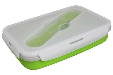 Ecovessel Collapsible Single Compartment Silicone Food Container