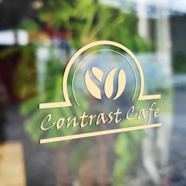 logo dla firmy contrascafe